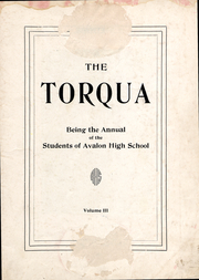 Page 2, 1927 Edition, Avalon High School - Torqua Yearbook (Avalon, CA) online yearbook collection