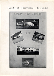 Page 5, 1927 Edition, Avalon High School - Torqua Yearbook (Avalon, CA) online yearbook collection