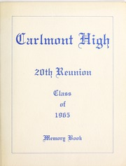 Page 3, 1965 Edition, Carlmont High School - Yearbook (Belmont, CA) online yearbook collection