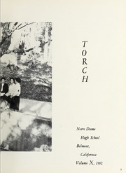 Page 7, 1962 Edition, Notre Dame High School - Torch Yearbook (Belmont, CA) online yearbook collection