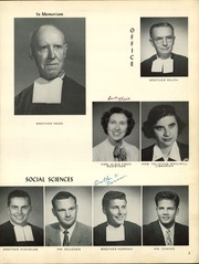 Page 7, 1957 Edition, St Marys College High School - Peraltan Yearbook (Berkeley, CA) online yearbook collection