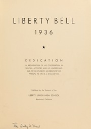 Page 3, 1936 Edition, Liberty High School - Lion Yearbook (Brentwood, CA) online yearbook collection