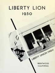 Page 5, 1950 Edition, Liberty High School - Lion Yearbook (Brentwood, CA) online yearbook collection
