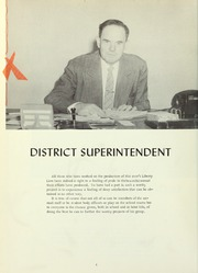Page 8, 1957 Edition, Liberty High School - Lion Yearbook (Brentwood, CA) online yearbook collection