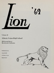 Page 5, 1969 Edition, Liberty High School - Lion Yearbook (Brentwood, CA) online yearbook collection