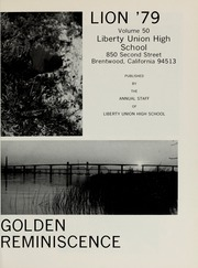 Page 5, 1979 Edition, Liberty High School - Lion Yearbook (Brentwood, CA) online yearbook collection