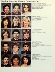 Page 13, 1984 Edition, Liberty High School - Lion Yearbook (Brentwood, CA) online yearbook collection