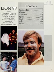 Page 5, 1988 Edition, Liberty High School - Lion Yearbook (Brentwood, CA) online yearbook collection