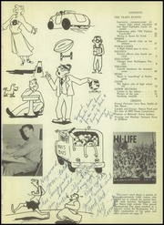Page 5, 1951 Edition, Burlingame High School - Panther Tracks Yearbook (Burlingame, CA) online yearbook collection
