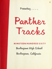 Page 7, 1960 Edition, Burlingame High School - Panther Tracks Yearbook (Burlingame, CA) online yearbook collection