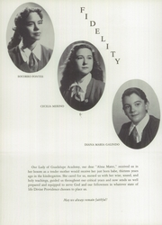 Page 14, 1955 Edition, Our Lady of Guadalupe Academy - Semper Fidelis Yearbook (Calexico, CA) online yearbook collection