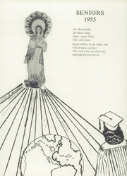 Page 15, 1955 Edition, Our Lady of Guadalupe Academy - Semper Fidelis Yearbook (Calexico, CA) online yearbook collection