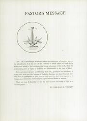 Page 8, 1955 Edition, Our Lady of Guadalupe Academy - Semper Fidelis Yearbook (Calexico, CA) online yearbook collection