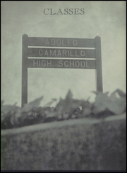 Page 15, 1959 Edition, Adolfo Camarillo High School - Blue and Silver Yearbook (Camarillo, CA) online yearbook collection