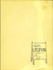 Page 3, 1947 Edition, Canoga Park High School - Utopian Yearbook (Canoga Park, CA) online yearbook collection
