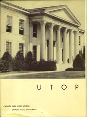Page 4, 1947 Edition, Canoga Park High School - Utopian Yearbook (Canoga Park, CA) online yearbook collection