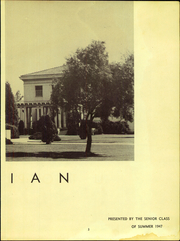 Page 5, 1947 Edition, Canoga Park High School - Utopian Yearbook (Canoga Park, CA) online yearbook collection