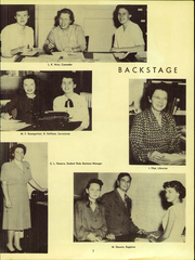 Page 9, 1947 Edition, Canoga Park High School - Utopian Yearbook (Canoga Park, CA) online yearbook collection