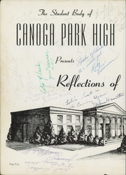 Page 6, 1949 Edition, Canoga Park High School - Utopian Yearbook (Canoga Park, CA) online yearbook collection