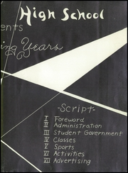 Page 7, 1951 Edition, Canoga Park High School - Utopian Yearbook (Canoga Park, CA) online yearbook collection