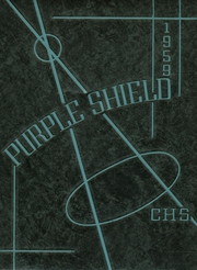 1959 Edition, Carlsbad High School - Purple Shield Yearbook (Carlsbad, CA)
