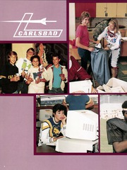 Page 12, 1985 Edition, Carlsbad High School - Purple Shield Yearbook (Carlsbad, CA) online yearbook collection