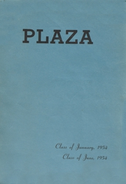 1954 Edition, Long Island City High School - Plaza Yearbook (Long Island City, NY)
