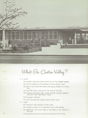 Page 8, 1959 Edition, Castro Valley High School - Laconian Yearbook (Castro Valley, CA) online yearbook collection