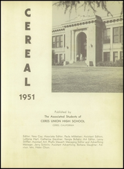 Page 7, 1951 Edition, Ceres High School - Cereal Yearbook (Ceres, CA) online yearbook collection