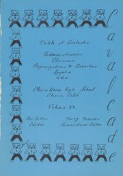 Page 5, 1956 Edition, Clovis High School - Cavalcade Yearbook (Clovis, CA) online yearbook collection