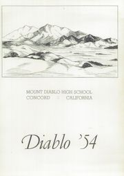 Page 7, 1954 Edition, Mount Diablo High School - Diablo Yearbook (Concord, CA) online yearbook collection