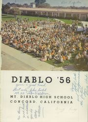 Page 5, 1956 Edition, Mount Diablo High School - Diablo Yearbook (Concord, CA) online yearbook collection