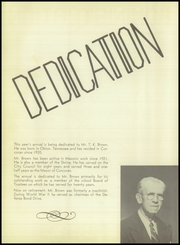 Page 8, 1952 Edition, Corcoran High School - Harvester Yearbook (Corcoran, CA) online yearbook collection