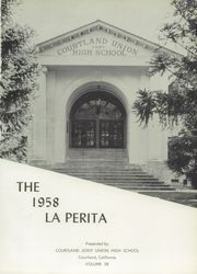 Page 5, 1958 Edition, Courtland Union High School - La Perita Yearbook (Courtland, CA) online yearbook collection