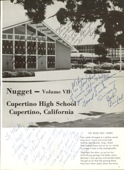 Page 5, 1965 Edition, Cupertino High School - Nugget Yearbook (Cupertino, CA) online yearbook collection