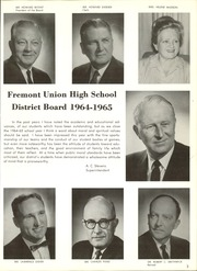 Page 7, 1965 Edition, Cupertino High School - Nugget Yearbook (Cupertino, CA) online yearbook collection