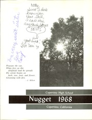 Page 5, 1968 Edition, Cupertino High School - Nugget Yearbook (Cupertino, CA) online yearbook collection