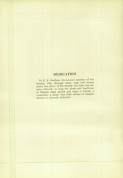 Page 10, 1932 Edition, Dinuba High School - Delphic Echoes Yearbook (Dinuba, CA) online yearbook collection