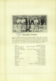 Page 12, 1932 Edition, Dinuba High School - Delphic Echoes Yearbook (Dinuba, CA) online yearbook collection