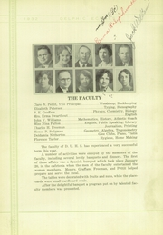 Page 16, 1932 Edition, Dinuba High School - Delphic Echoes Yearbook (Dinuba, CA) online yearbook collection