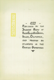 Page 5, 1933 Edition, Dinuba High School - Delphic Echoes Yearbook (Dinuba, CA) online yearbook collection