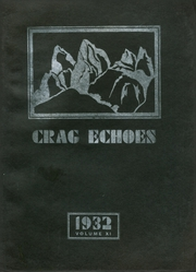 1932 Edition, Dunsmuir Joint Union High School - Crag Echoes Yearbook (Dunsmuir, CA)