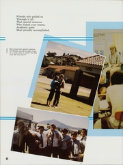 Page 10, 1986 Edition, San Pasqual High School - Golden Legend Yearbook (Escondido, CA) online yearbook collection