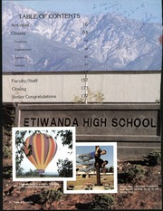 Page 8, 1986 Edition, Etiwanda High School - Aquila Yearbook (Etiwanda, CA) online yearbook collection