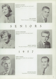 Page 11, 1957 Edition, Etna Union High School - Nugget Yearbook (Etna, CA) online yearbook collection