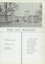Page 5, 1957 Edition, Etna Union High School - Nugget Yearbook (Etna, CA) online yearbook collection