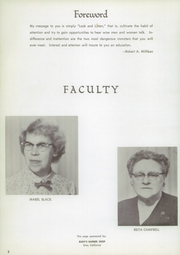 Page 6, 1957 Edition, Etna Union High School - Nugget Yearbook (Etna, CA) online yearbook collection