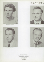 Page 8, 1957 Edition, Etna Union High School - Nugget Yearbook (Etna, CA) online yearbook collection