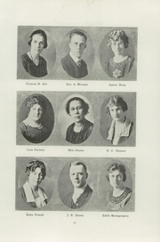 Page 15, 1921 Edition, Eureka High School - Sequoia Yearbook (Eureka, CA) online yearbook collection