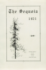Page 5, 1921 Edition, Eureka High School - Sequoia Yearbook (Eureka, CA) online yearbook collection